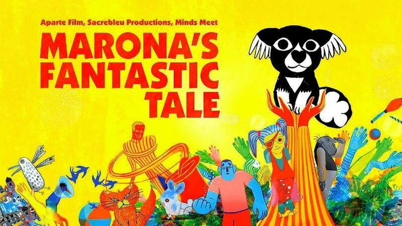Marona's Fantastic Tale 2019 Trailer HD Anca Damian Dazzling Animated Dog Film