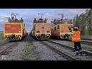 Собачий Вальс в исполнении тяговых агрегатов НП1 и ОПЭ1-АМ🎵🎧