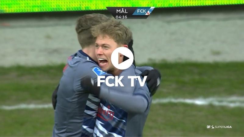Highlights AC Horsens 0 2 FCK