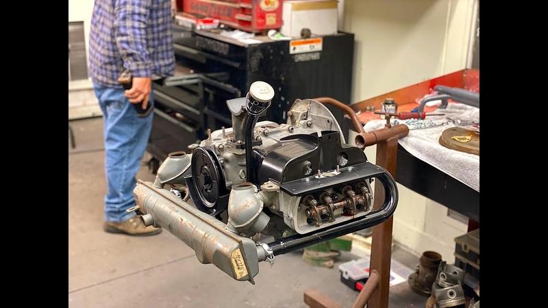 VW ENGINE Build Part 2 Restoration 40HP air cooled Volkswagen engine VW Bus VW Kombi VWDARRIN