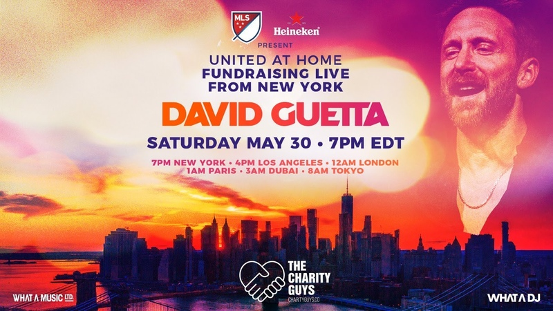 David Guetta United at Home - Fundraising Live from NYC UnitedatHome StayHome WithMe