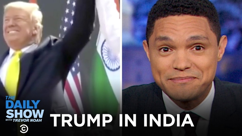 Trump Takes India The Daily Show