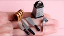 Кухонные принадлежности для куклы Ч.2. Miniature kitchen utensils. Polymer clay. Tutorial. DIY.