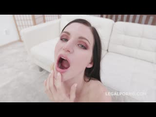 BlackEned with Lina Arian 4 white then 4 black No Pussy DAP Gapes Messy Cumshot and Swallow GIO1288