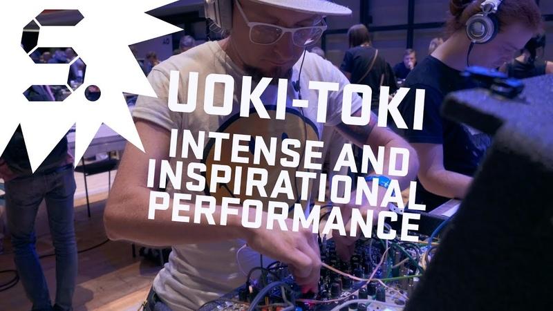 Uoki Toki Intense Modular Performance @Synthposium 2018 Moscow