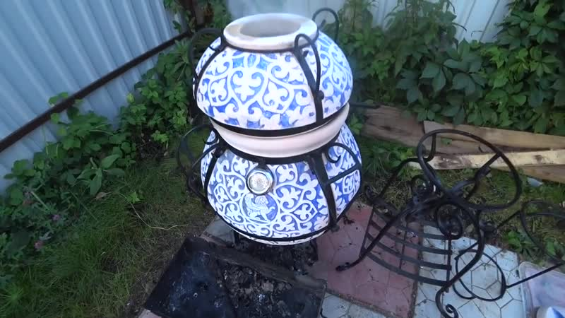 {ДНЕВНИК ЕВРЕЯ} Первый раз готовлю в Тандыре! Ребрышки и Баклажаны при температуре 500 градусов