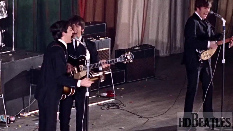 The Beatles Twist And Shout Come To Town ABC Cinema Manchester United Kingdom