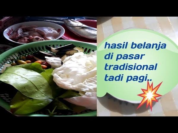 Belanja buat makan siang makan sayur biar kuat