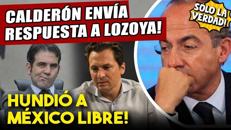Hace unos momentos Felipe pierde la cabeza contra Lozoya Le hundió su México Libre