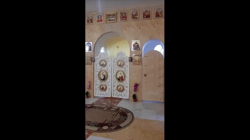 Дорогие братья и сестры Молебен святым благоверным князьям Петру и Февронии