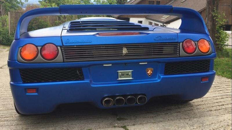 Lamborghini Diablo Evolution GTR Le Mans 6 0L V12 Unique Edition 1 5 Cold Start Up Remus Exhaust