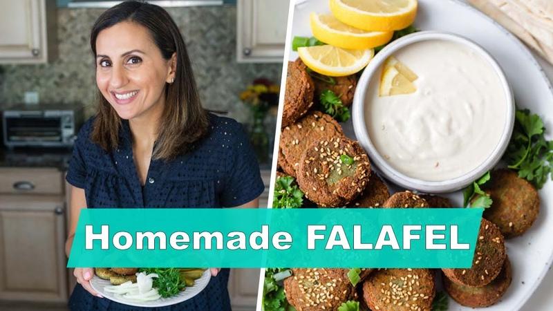 Authentic Lebanese FALAFEL at Home Frying Baking Methods