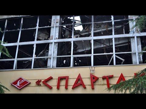 Два выезда в одно и тоже место Пожар в спорткомплексе Спартак