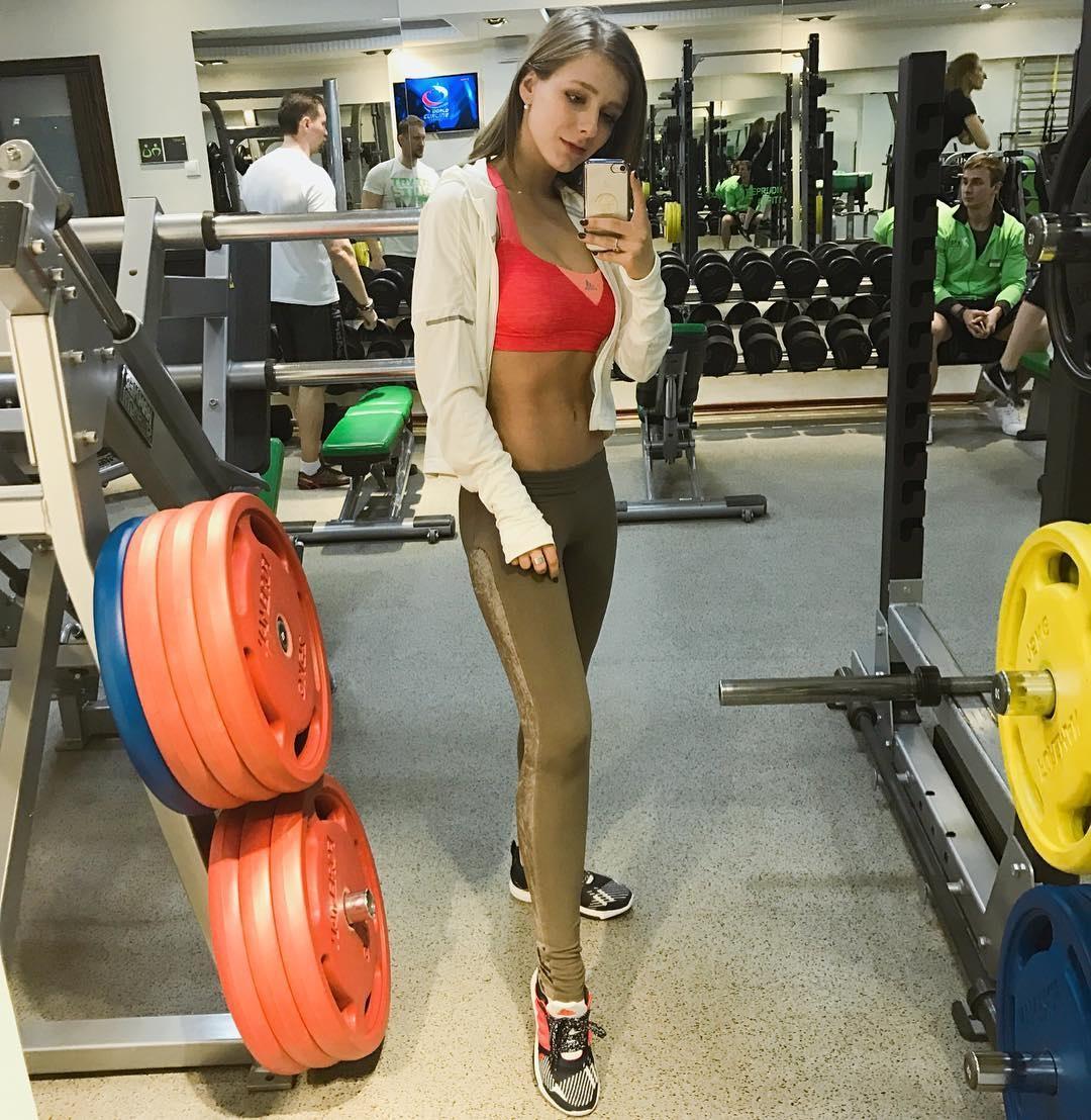 Спортивная Лиза Арзамасова