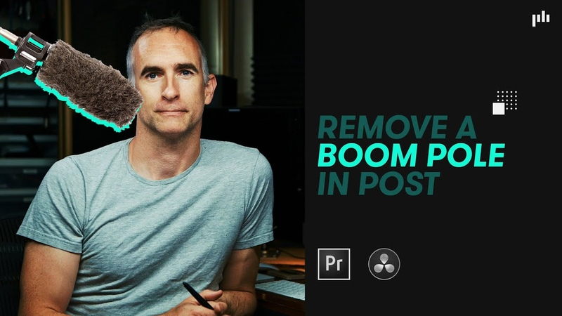 Remove a Stray Boom Mic (and Other Unwanted Objects) in Resolve and Premiere
