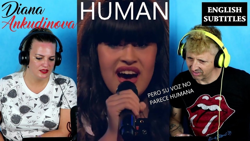 Reaccionando a Human de Diana Ankudinova spanish react ENGLISH SUBTITLES