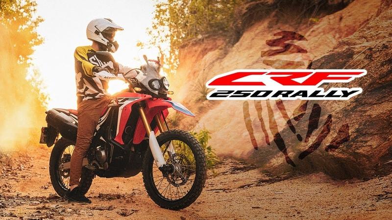 Обзор Honda CRF 250 Rally Тень Легенды