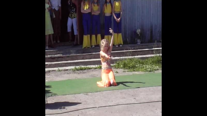 Посёлок ПЕРВОМАЙСКИЙ 13.07.2008 г. Восточный танец