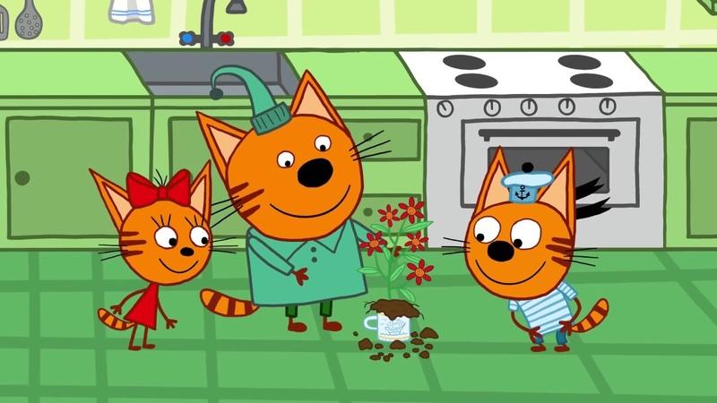 Три Кота Сборник космических серий Мультфильмы для детей ✈️🌌🎡