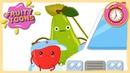 Не доброе утро Помидора 🍅, Апельсина 🍊 и Груши 🍐 Fruity Toons - 41 серия мультика для малышей