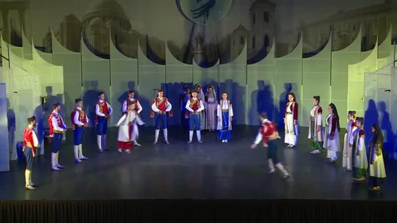 Folklorni Ansambl Crna Gora Dances from old Montenegro© Hungary 16 HD
