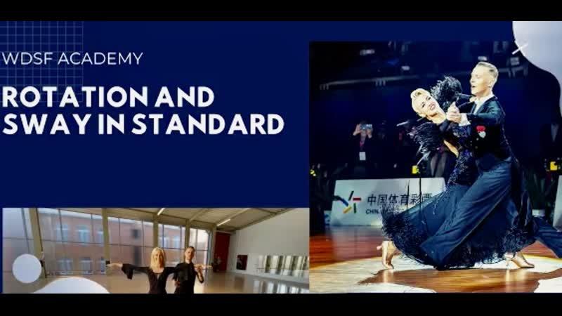 Evaldas Sodeika and Ieva Zukauskaite   Rotation and Sway in Standard