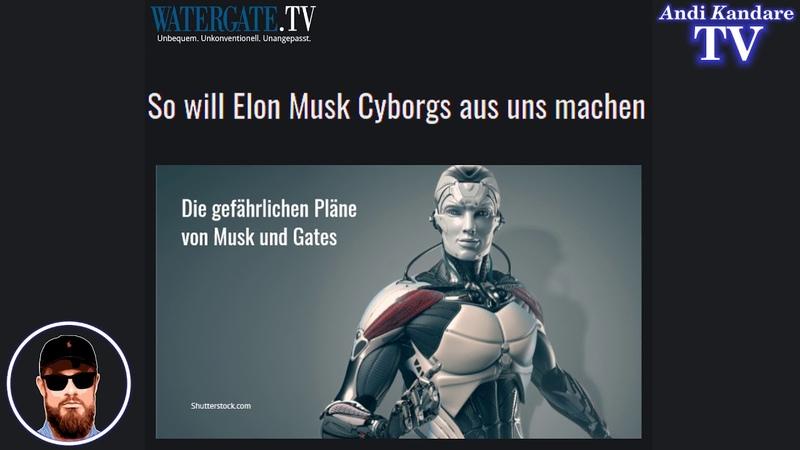 So will Elon Musk Cyborgs aus uns machen