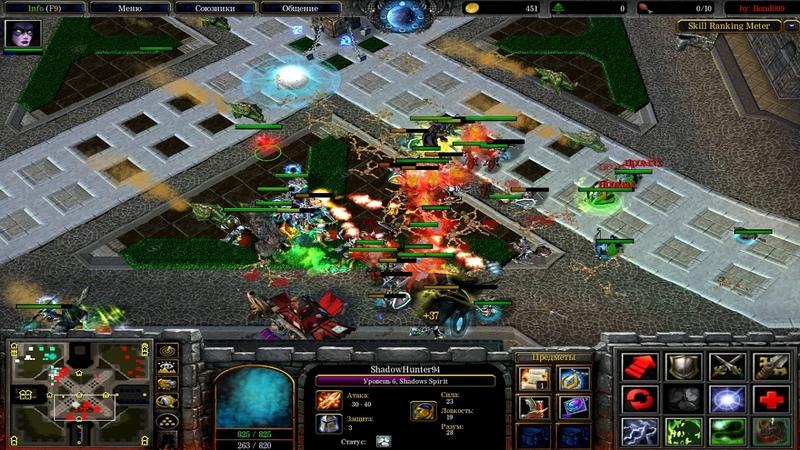Warcraft 3 Frozen Throne Custom Hero Footies v4 1