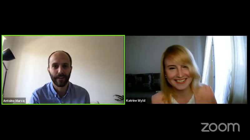 ELT Podcast 13 Katrine Wyld and Antoine Marcq on running engaging online intensives