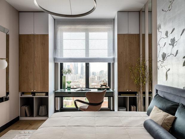 Оазис тишины: все оттенки балтийского побережья в квартире 66 м² от Елены Карасаевой    01
