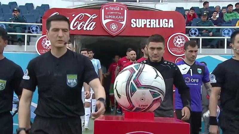 Coca Cola Superligasi 3 tur Lokomotiv Buxoro 3 0 Gollar va xavfli vaziyatlar