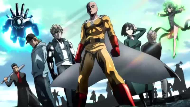 One Punch Man 2nd Season OP [Seijaku no Apostle] (Jackie-O | Krua | Sati Akura RUS Cover TV-Version)