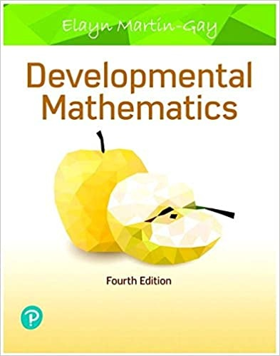 Developmental Mathematics  4th Edition