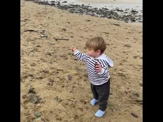 Гордон Рамзи опубликовал видео первых шагов годовалого сына