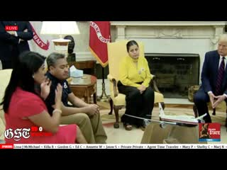 SAVE THE CHILDREN MR PRESIDENT_ Trump SHOCKED by Vanessa Guillen Mom and Family at the Oval office