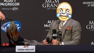 Забавнейшие моменты пресс-конференций UFC