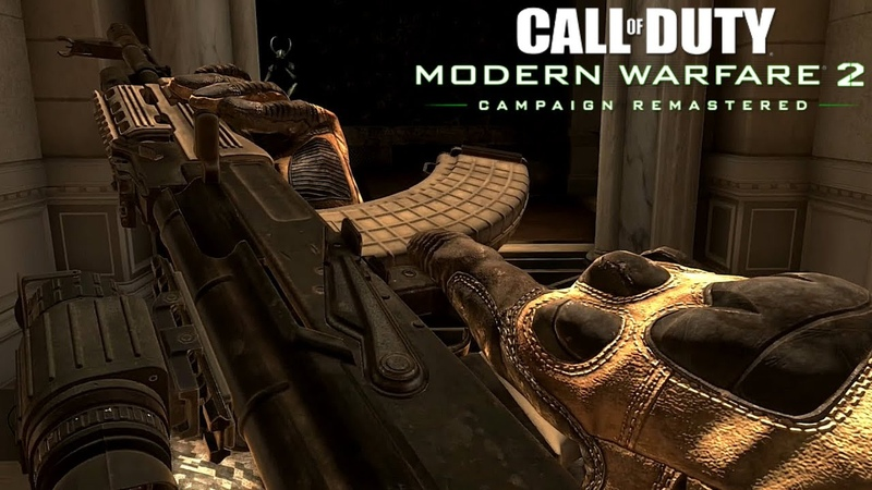 Call of Duty Modern Warfare 2 Remastered All Guns Inspections, Shooting and Reload Animations