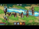 Days Bygone Castle Defense Android IOS Review Gameplay KQL Walkthrough Part 16 Day 151 160