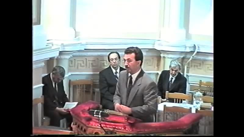 Богослужение 19 августа 1998 года Архивная запись