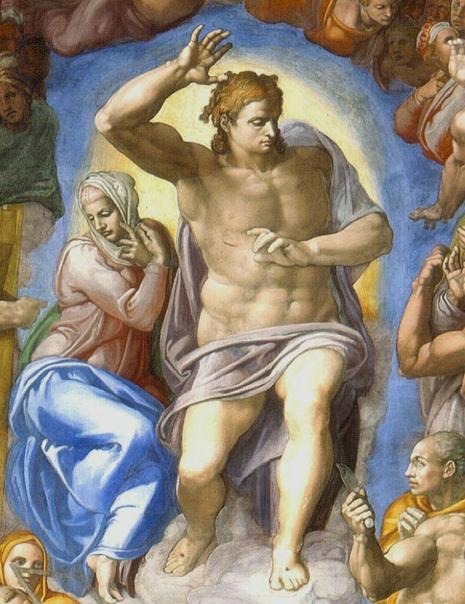 «Страшный суд», Микеланджело Буонарроти 15351541гг. Фреска. Высота около 14 м.. Сиктинская капелла, Ватикан Страшный суд» (итал. Giudizio universale, букв. «Последний суд» или «Последний