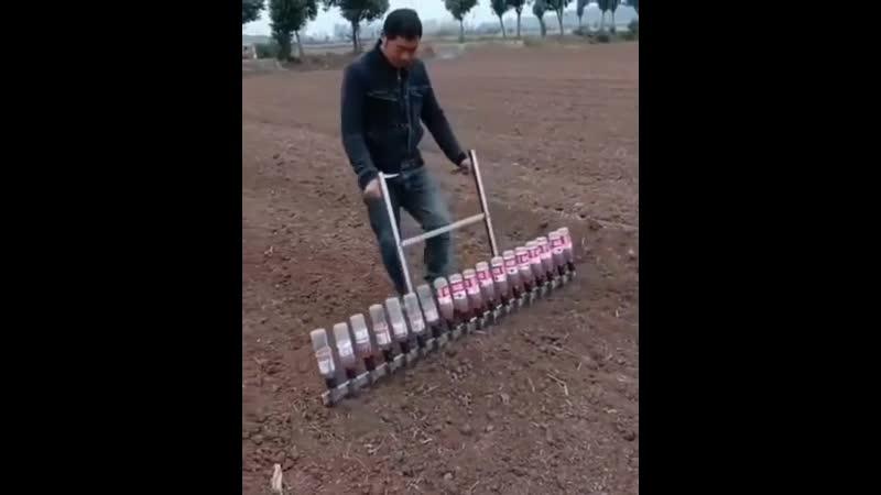 Приспособление для посева