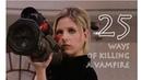 96 - Buffy the Vampire Slayer: 25 ways of killing a vampire 25 façons de tuer un vampire