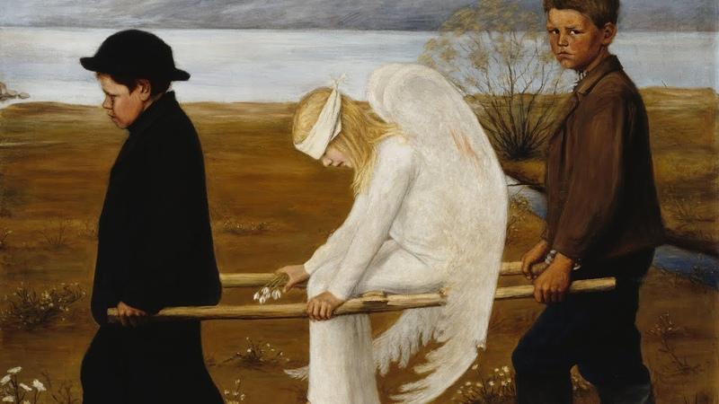 「フィンランドの象徴派画家」ヒューゴ・シンベリ Hugo Simberg の絵画集