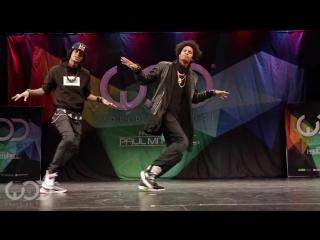Les Twins    FRONTROW    World of Dance Las Vegas 2014 #WODVEGAS