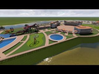 Аквапарк в центре г.Улан-Удэ