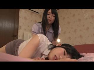 Mairi Mori, Riona Minami [PornMir, Японское порно, new Japan Porno, Lesbian, Dead Drunk, Lesbian Kiss, Sweat]