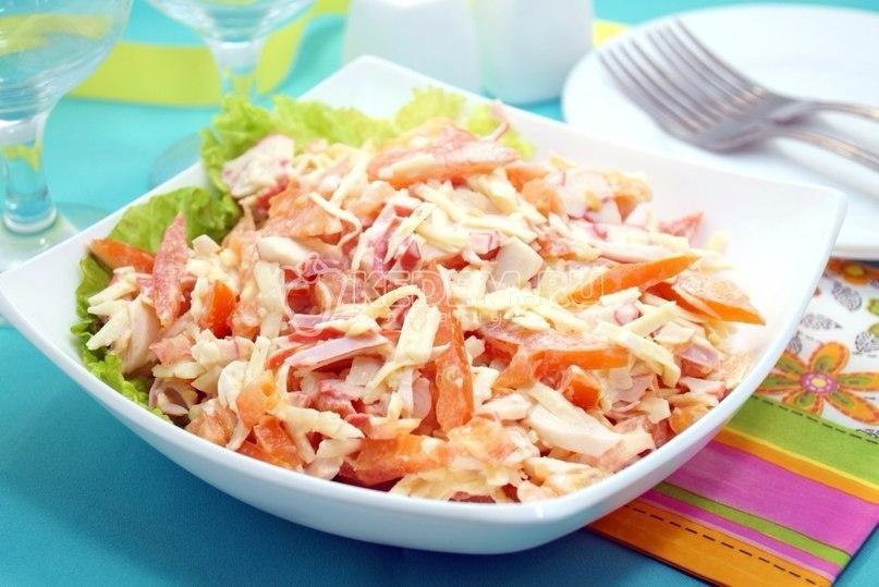 Теперь ты знаешь, что съесть поздно вечером - 5 рецептов вкусных и полезных салатов!, изображение №2