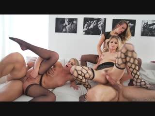 Frida Sante, Jillian Janson, Katerina Kay, Natasha Starr, Zoey Monroe, group sex orgy anal porno