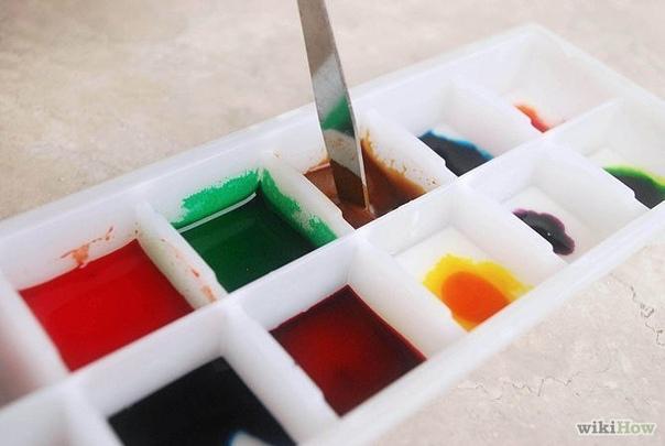 КАК СДЕЛАТЬ АКВАРЕЛЬНЫЕ КРАСКИ. Сделать собственные краски очень просто...Вам понадобится:- 4 столовые ложки пищевой соды;- 2 столовые ложки уксуса;- 2 столовые ложки крахмала;- пищевой