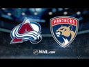 Colorado Avalanche vs Florida Panthers | Oct.18, 2019 | NHL 19 20 |Game Highlights | Обзор матча
